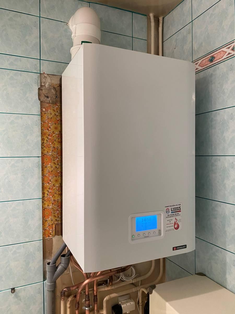 Une Chaudière À Condensation remplacement d'une chaudière gaz basse température par une