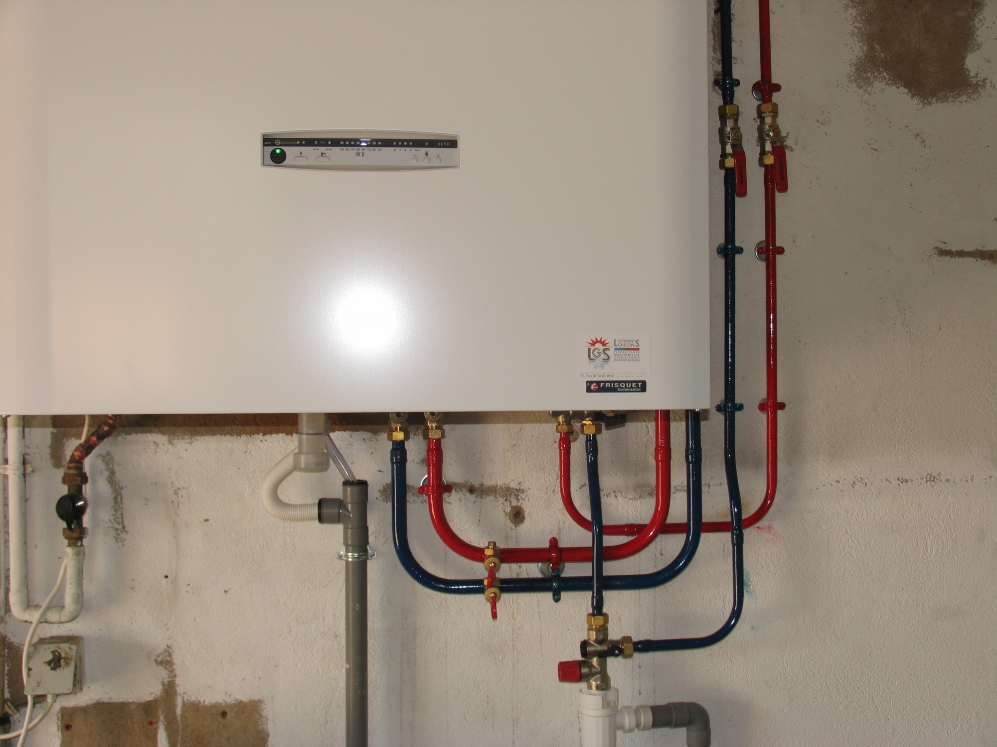 Installation Chaudière À Condensation installation de chaudières gaz condensation - loison gerard's